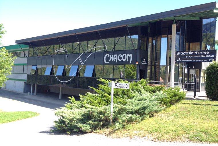 Nouvelle usine Chacom