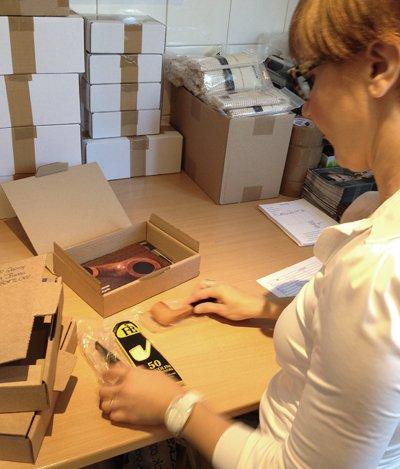 Emballage des commandes