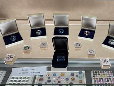 Exposition de diamants