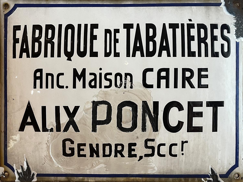 Fabrique de tabatières à Saint Claude