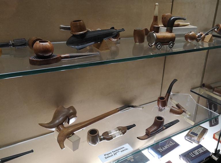Pipes originales à fumer