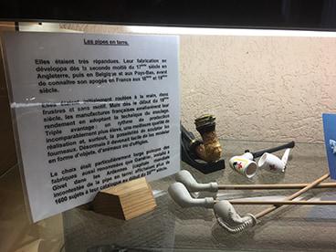 Pipes en terre cuite fabriquées dans les Ardennes