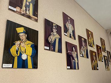 Portraits des membres de la Confrérie de St Claude