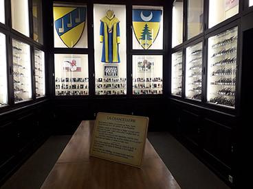 Salle de la Chacellerie au musée de la pipe