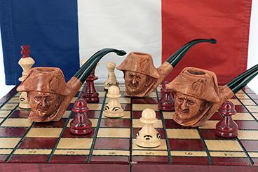 La pipe sculptée Napoléon, bientôt chez vous ?