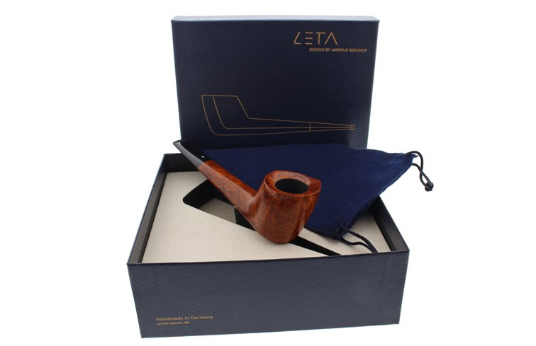 Coffret cadeau avec la pipe Leta