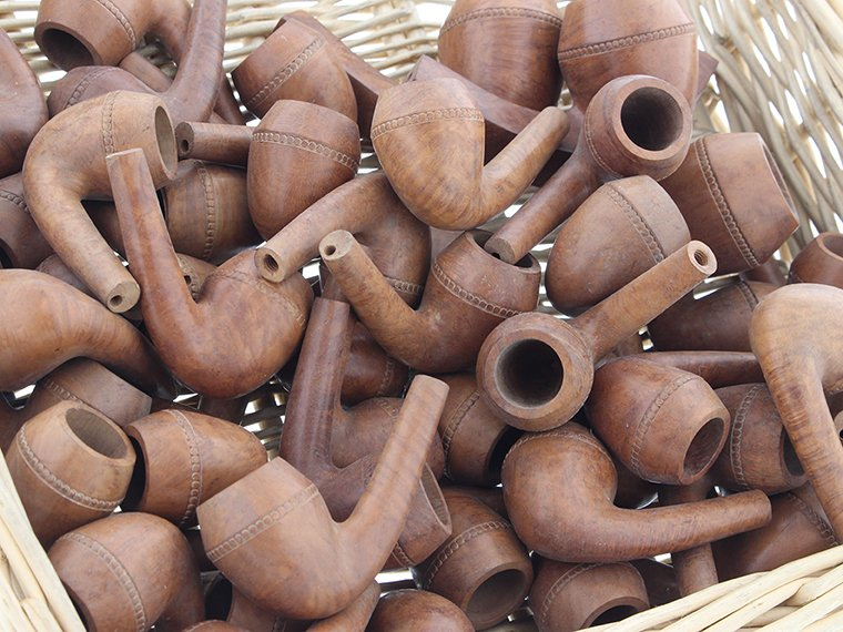 Production de pipes de Saint Claude