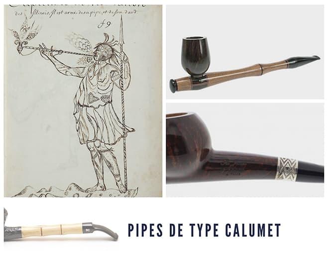 La pipe calumet de Saint-Claude