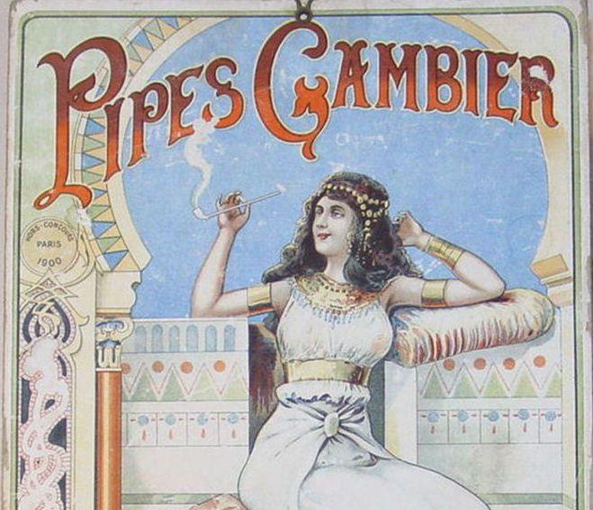 Avant la bruyère : les pipes Gambier