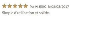 Avis client sur le pipe reamer du 08/03/2017