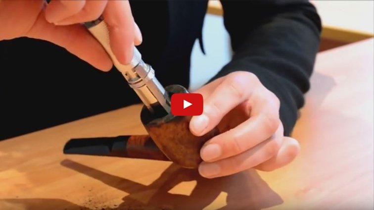 Vidéo Youtube : l'adaptateur pour pipe