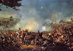 Tableau : La Bataille de Waterloo, parWilliam Sadler II (1815)