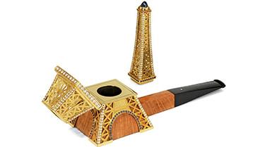 Pipe Dunhill Tour Eiffel par Kalman S. Hener