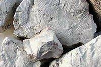 Un minéral très poreux