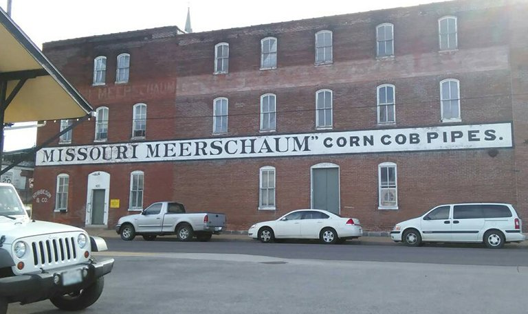 Usine Missouri Meerschaum Corn Cob Pipes