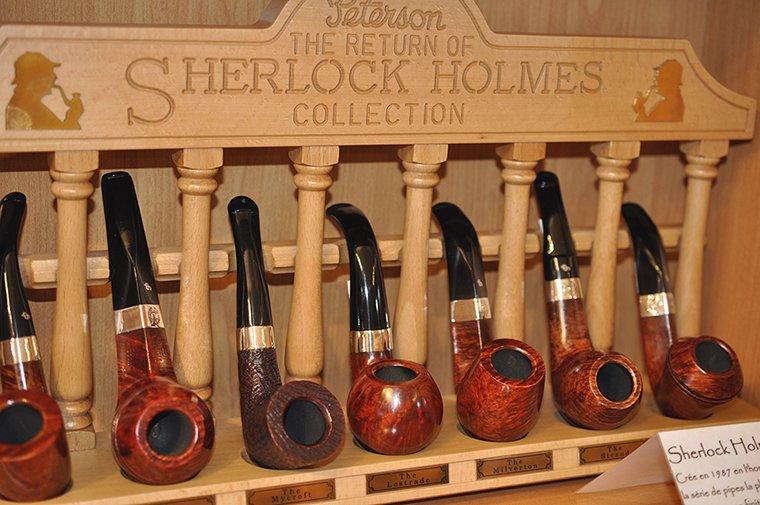 Porte pipe Sherlock Holmes