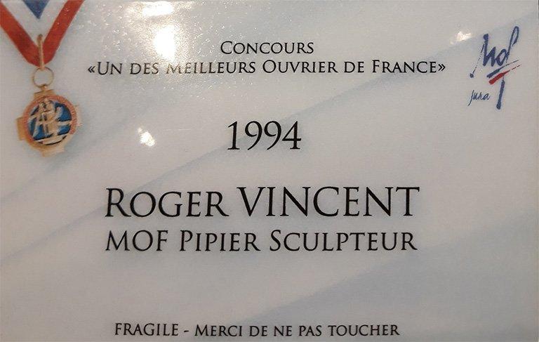 MOF Pipier Sculpteur