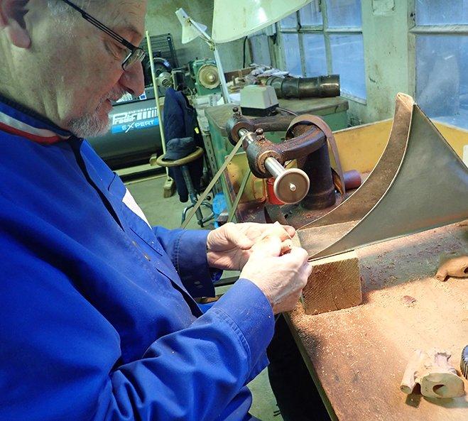 Roger Vincent, sculpteur de pipes