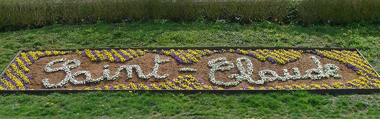 Parterre de fleurs Saint Claude