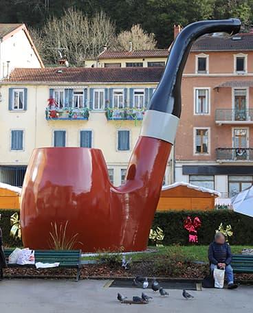 Pipe géante à St Claude