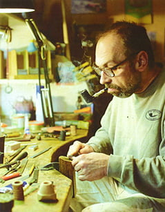 Tom Eltang, fabrication de pipes