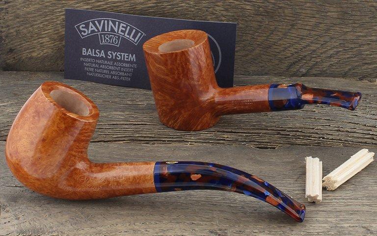 Pipes Savinelli (tuyaux colorées en acrylique)
