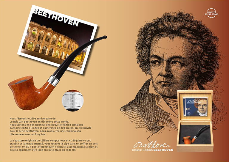 Pipe Vauen Beethoven 2020