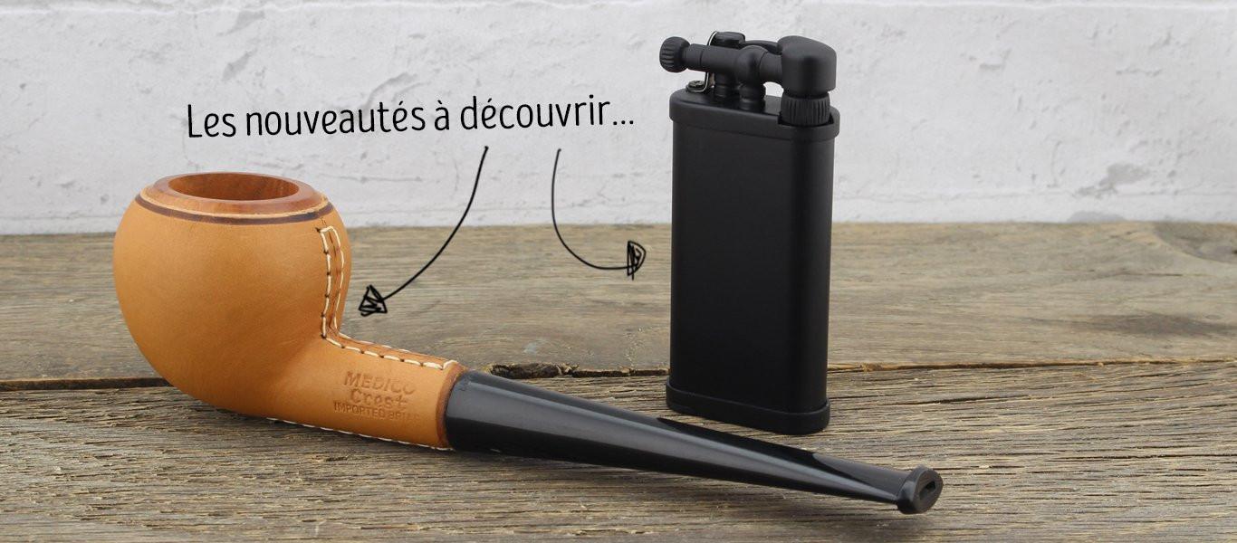 Nouveautés pour les fumeurs de pipe