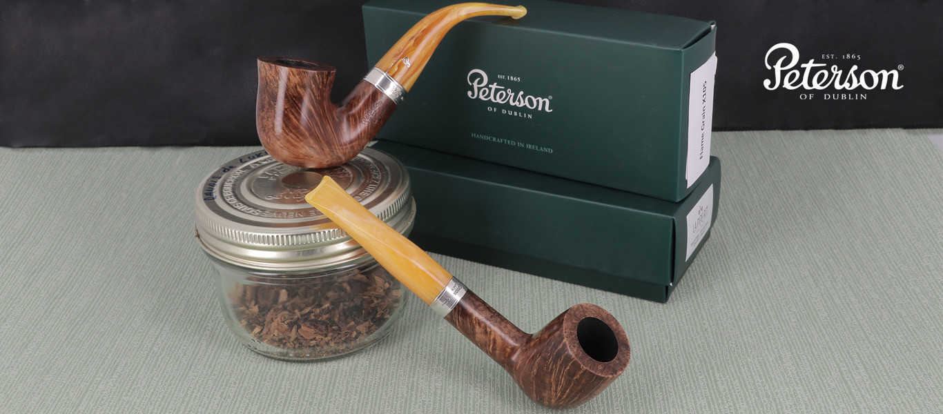 Pipes Peterson Collection Flame Grain